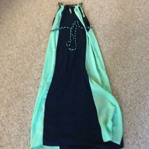 New York and company maxi dress size large